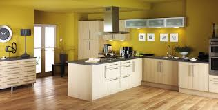 kitchen simple cool natural oak kitchen design materials