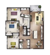 1 3 bed apartments springhouse
