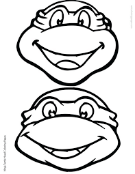 coloring pages printable ninja turtle coloring pages raphael