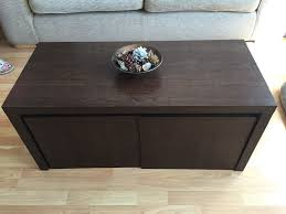 next coffee table with 2 additional tables underneath u0026 nest of