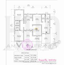 Floor Plan Elements Traditional Home With Modern Elements Kerala Home Design And