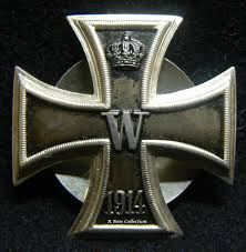 question wwi german iron cross class silver vaulted