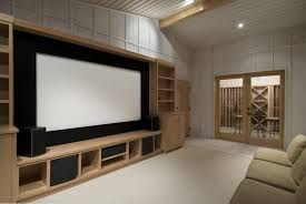 Home Theater Cabinet Seating Furniture Design Installation Seats - Living room home theater design