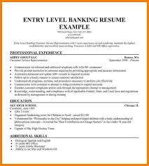 sample entry level resume high graduate high