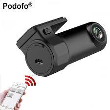 aliexpress com buy podofo mini car dash cam wireles dvr app