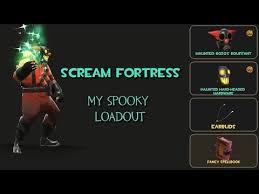 Tf2 Halloween Costume Team Fortress 2 Spooky Loadout Scream Fortress 2013