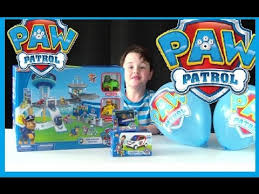 100 surprise paw patrol toy jouet pat patrouille