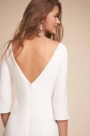 backless wedding dresses u0026 low back wedding gowns bhldn