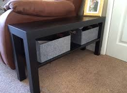 Ikea Lack Side Table by Ikea Hack Lack Tv Bench As Side Table Ikea Pinterest Tv