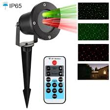 laser lights icicle shower green outdoor lights with