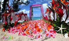wedding flowers oahu hawaii weddings custom designed alters on oahu