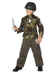boys military halloween costumes at low wholesale prices