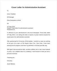 Executive Administrative Assistant Sample Resume Administrative Assistant Amp Executive Cover Letter Within 23