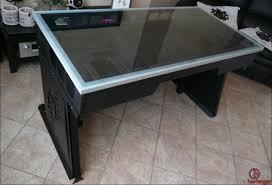 Homemade Gaming Desk by Gaming Computer Desk Plans Best Home Furniture Decoration