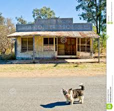 ghost town cracow queensland australia editorial photography