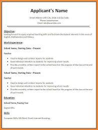 resume format model download resume models
