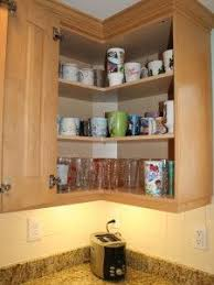 Cabinet Storage Ideas Corner Suzan Or Flush Wall Cabinet Neither U003d Easy Reach
