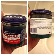 greaser hairstyle product dax vegetable oils pomade the dapper society men s grooming blog