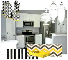 grey and yellow kitchen ideas yellow white and gray kitchen kitchen cabinets color gallery at the