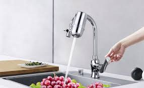 water filter kitchen faucet amazon com mancel advanced water filter for kitchen faucet fresh
