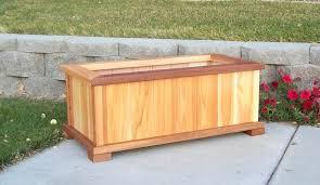 Lowes Planter Box by Cedar Planter Box Bench Plans Cedar Planter Box Diy Jumbo Cedar