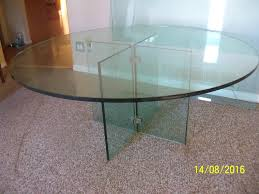 Glass Dinner Table Large 3 4 U0026amp Amp Quot Glass Dinner Table In Penticton Bc