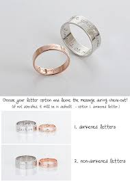 personalized wedding jewelry custom name ringpersonalized signature ring gold