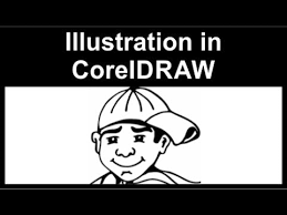 converting a sketch to an illustration in coreldraw youtube