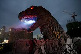 godzilla named tourism ambassador stomping ground