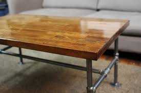 furniture butcher block coffee table design ideas metal butcher