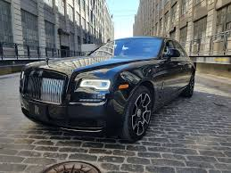 wrapped rolls royce rare 2017 rolls royce ghost black badge is a 400 000 apparition
