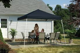 Quest Pop Up Canopy by Amazon Com 12x12 Slant Leg Pop Up Canopy Green Cover Black