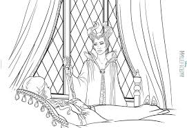 maleficent coloring pages and princess aurora coloringstar