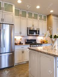 kitchens with stainless appliances kitchen design white cabinets stainless appliances home design