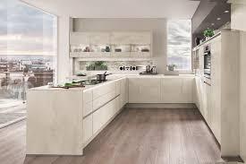 cuisine en beton riva décor béton blanc envia cuisines
