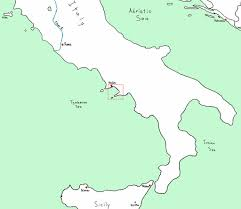 Map Of Naples Italy by Naples