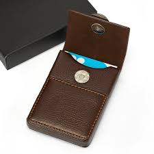 buy business card holder leather business card holders aliexpress buy eacme handmade