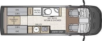 Coachmen Class C Motorhome Floor Plans 2016 Siesta 29tb Class B Plus Motorhomes Rvs Pinterest Rv