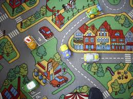 Car Play Rugs The Best Job Is Daddys U0027s One U2013 In The Carpet Town By Car Virtual