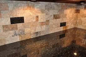 Uba Tuba Granite Countertop Tile Backsplash Contemporary Kitchen - Tile backsplashes with granite countertops