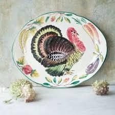ceramic turkey platter thanksgiving ceramic oval turkey serving plate dish grasslands