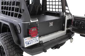 jeep lj interior smittybilt 2761 security storage vault for 87 06 jeep wrangler yj