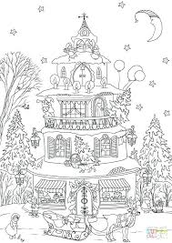 printable gingerbread house colouring page gingerbread houses coloring pages medcanvas org