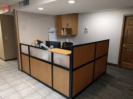 Rounded Reception Desk by Reception Desk Gallery Desq We Create Space Minnesota
