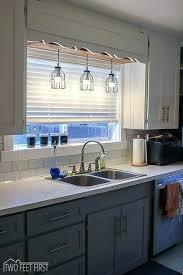 light fixture over kitchen sink vanity kitchen light fixtures over sink lowes of the