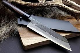 high carbon steel kitchen knives yoshihiro mizu yaki blue high carbon steel black