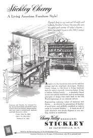 stickley cherry valley workshops advertisement gallery
