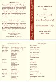christian wedding program templates wedding and jewellery hindu christian marriage in church