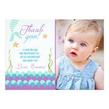 little mermaid birthday invitations u0026 announcements zazzle