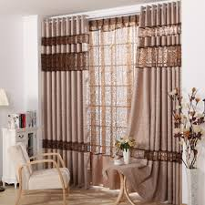 vintage bedroom curtains european style aqua polyester jacquard modern curtains without valance